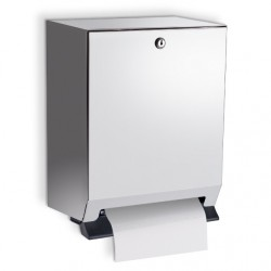 AJW Commercial Washroom Accessories U169 Series Steel Body Roll Paper Towel Dispenser