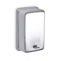 AJW Commercial Washroom Accessories U112 32oz Stainless Steel Powder Soap Dispenser - Surface Mounted