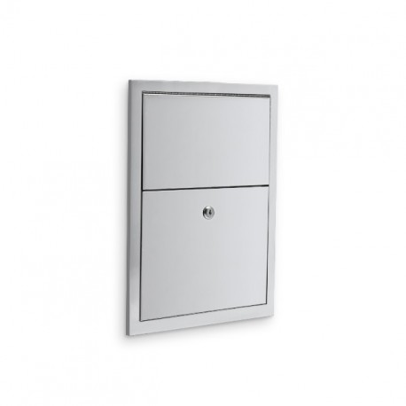 commercial washroom accessories u581 recessed 1.5 gallon feminine