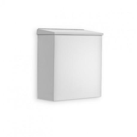 AJW U591 Surface Mounted 1.6 Gallon Feminine Sanitary Napkin Disposal Unit