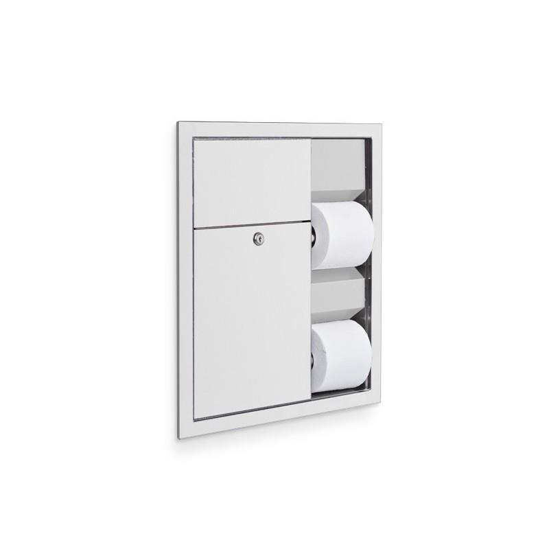 Washroom Products: AJW Commercial Washroom Accessories U864 Dual Toilet