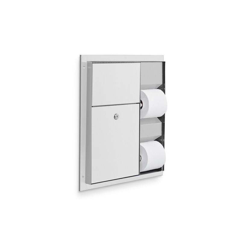 Washroom Products: AJW Commercial Washroom Accessories U865 Dual Toilet