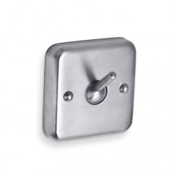 AJW Collapsable Security Hook, Chase Mounting - Surface Mounted