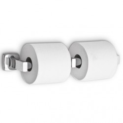 AJW Commercial Washroom Accessories UX142 Dual Toilet Tissue Paper Dispenser - Surface Mounted
