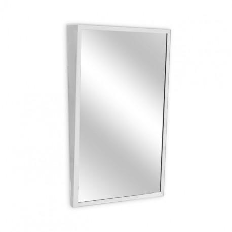 """AJW 24""""W x 30""""H Fixed Tilt Angle Frame Mirror"""