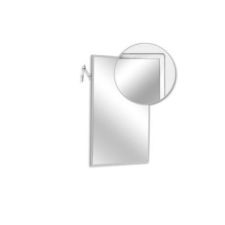 "AJW 24""W x 36""H Adjustable Tilt Angle Frame Mirror"
