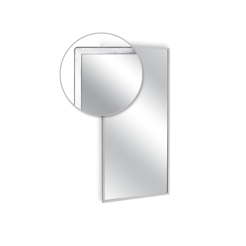 Ajw 24 Quot W X 36 Quot H Angle Frame Mirror