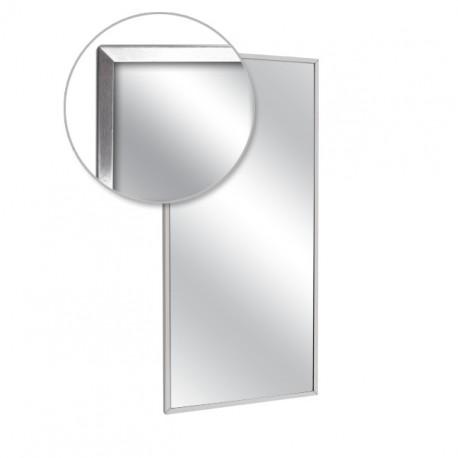 "AJW 60""W x 24""H Channel Frame Mirror"