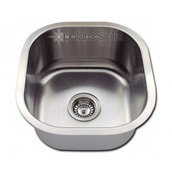 Polaris P6171 Undermount Stainless Steel Bar Sink