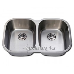 Polaris P405 Large Stainless Steel Kitchen Sink