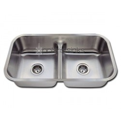 Polaris P215 Half Divide Stainless Steel Kitchen Sink