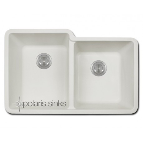 american standard offset double bowl sink kit costco polaris p108w offset bowl trugranite sink 380