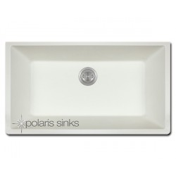 Polaris P848W Large Single Bowl TruGranite Kitchen Sink