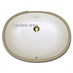 Polaris PUPLB Bisque Porcelain Bathroom Sink