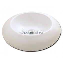 Polaris PV09B Bisque Porcelain Vessel Sink