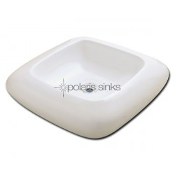 Polaris PV001B Bisque Porcelain Vessel Sink