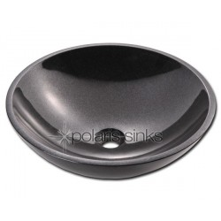 Polaris P058BL Black Granite Vessel Sink