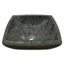 Polaris P758 Butterfly Blue Granite Vessel Sink