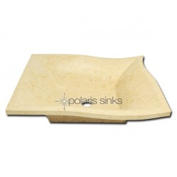 Polaris P958 Egyptian Yellow Marble Vessel Sink