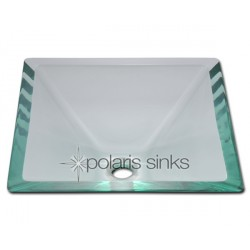 Polaris P306CR Crystal Colored Glass Vessel Sink