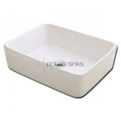 Polaris PV041B Bisque Porcelain Vessel Sink