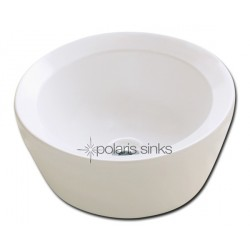 Polaris PV091B Bisque Porcelain Vessel Sink