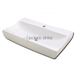 Polaris PV032B Bisque Porcelain Vessel Sink