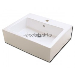 Polaris PV052B Bisque Porcelain Vessel Sink