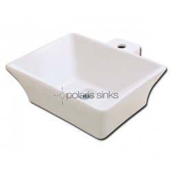 Polaris PV092B Bisque Porcelain Vessel Sink