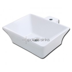 Polaris PV092W White Procelain Vessel Sink