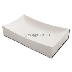 Polaris PV033B Bisque Porcelain Vessel Sink