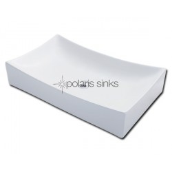 Polaris PV033W White Procelain Vessel Sink