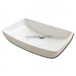 Polaris PV053B Bisque Porcelain Vessel Sink