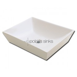 Polaris PV073B Bisque Porcelain Vessel Sink