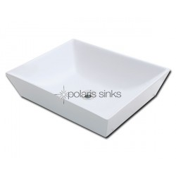 Polaris PV073W White Procelain Vessel Sink