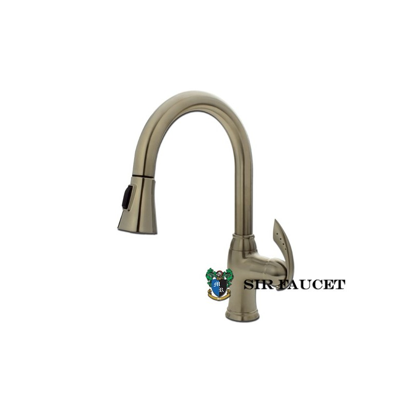 Sir Faucet 772 Pull Out Spray Kitchen Faucet