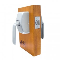 ABH Hardware 6000 Series Push Pull Hospital Door Latch