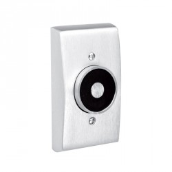 ABH Hardware 2100 Recessed Wall Mount Electro-Magnetic Door Holder/Release