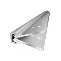"ABH Hardware A110HDCL83 Full Concealed 83"" Geared Continuous Hinge"