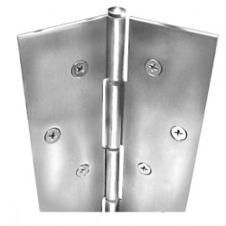ABH Hardware A5000070 Full Concealed Edge Mount Pin & Barrel Geared Continuous Hinge