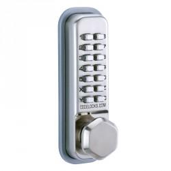 """Codelocks CL200 Series Mechanical Lock Door Knob, For Door Thickness-1-3/8"""" - 2-3/8"""""""
