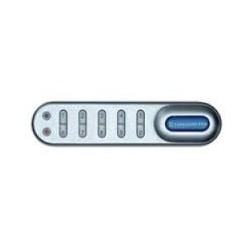 "Codelocks KL1005 Electronic Kitlock Locker Lock Custom Packed with 5/8"" Spindle, to fit 1/4"" Thick Material, Finish-Silver Grey"