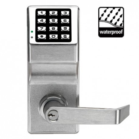 Alarm Lock DL2700WP Trilogy T2 Cylindrical Keyless Electronic Keypad Lock Weatherproof Outdoor Model