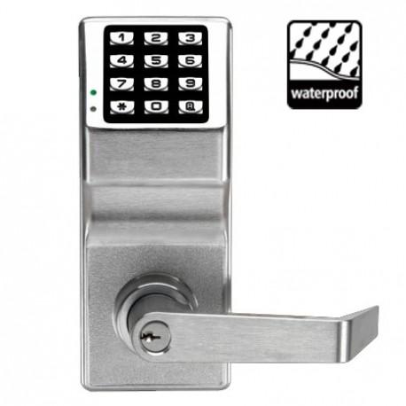 Alarm Lock DL2700WP Trilogy T2 Cylindrical Keyless Electronic Keypad Lock Weatherproof Outdoor Model