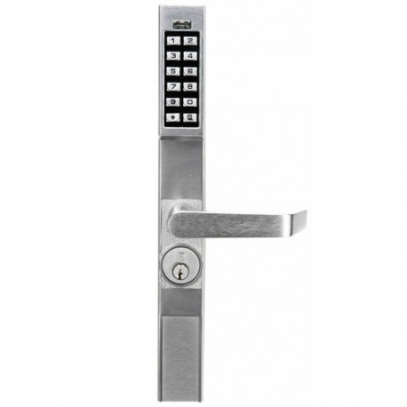 Alarm Lock DL1200 Series Trilogy Narrow Stile Digital Keypad Lock Exit Trim for Adams Rite 4710-4900