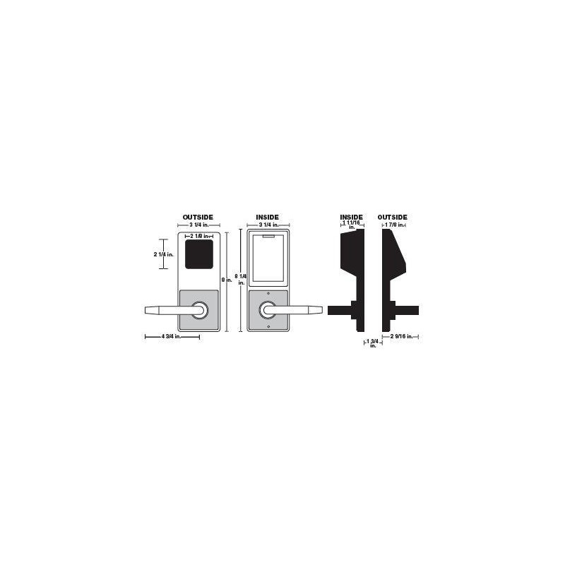 alarm lock dl3000wp weather proof trilogy t2 cylindrical