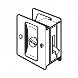 Don-Jo PDL-101 Privacy Pocket Door Lock