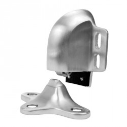 Don-Jo 1520 Door Holder, Satin Chrome Finish