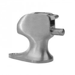 Don-Jo 1517 Door Holder, Satin Chrome Finish