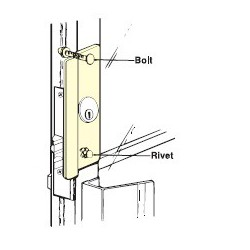 Don-Jo LP-307 Latch Protector